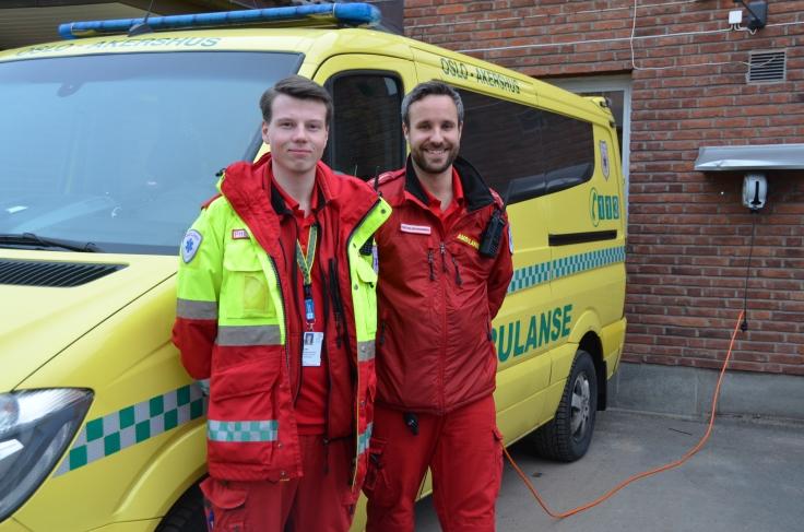 ambulanse, miljø 1