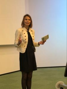 Maria Jahrmann Bjerke_statsadvokat_åpning av konferansen